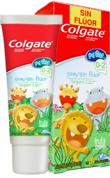 My First Colgate<sup>®</sup> Sin Flúor 0 a 2 Años