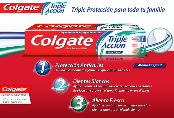 Crema Dental Colgate® Tripla Acción